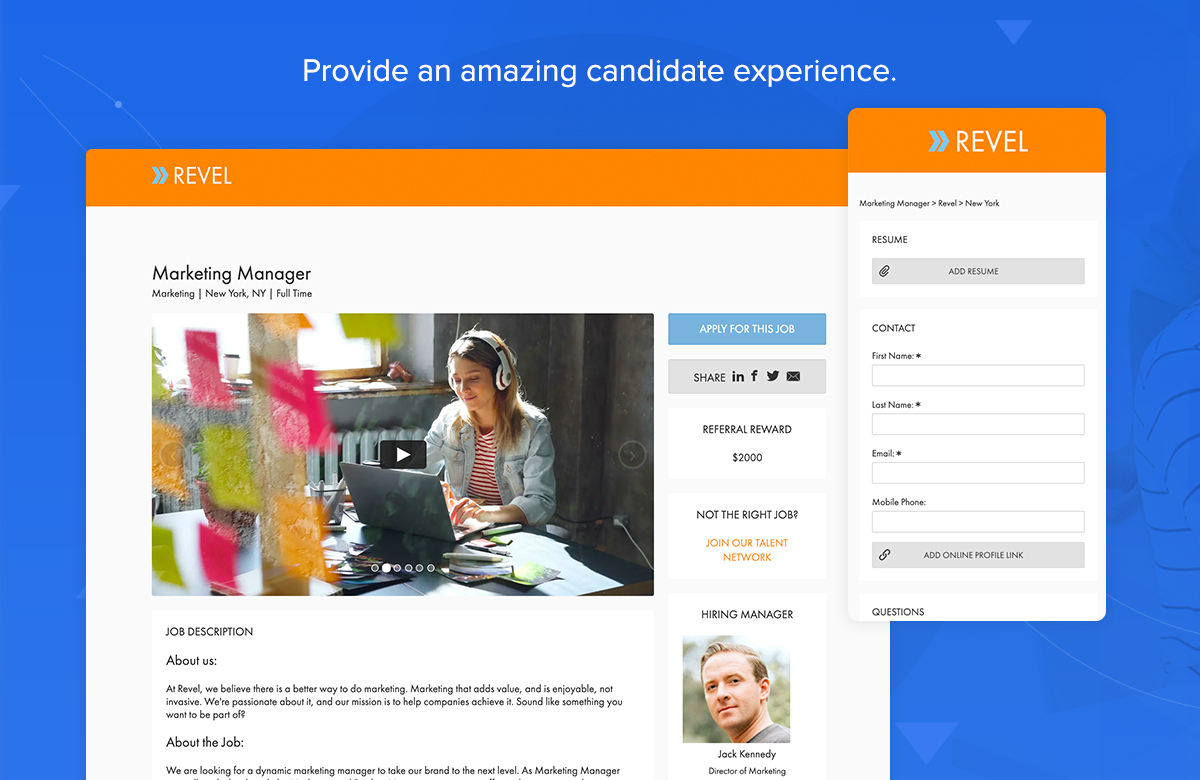 JobScore screenshot