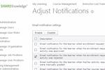 ShareKnowledge screenshot: ShareKnowledge user management screenshot