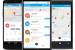 myGeoTracking screenshot: The myGeoTracking applications for Android and iOS allow device GPS tracking
