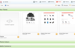 ekmPowershop screenshot: Design your online shop with ekmPowershop's drag and drop interface