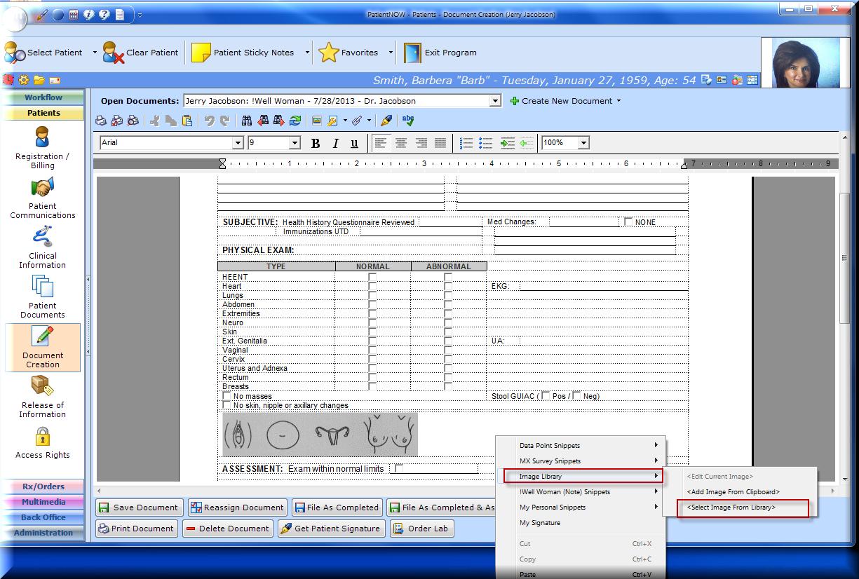 PatientNOW Software - 1