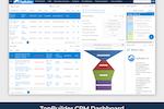 TopBuilder screenshot: TopBuilder CRM dashboard
