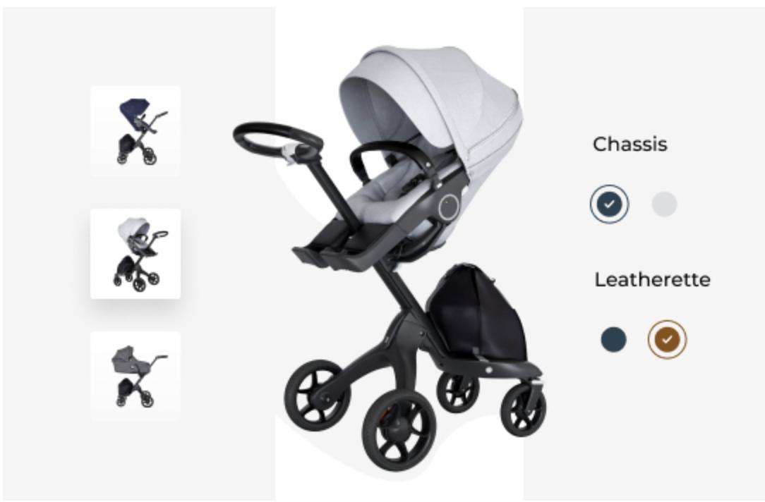 3D Source - stroller configurator