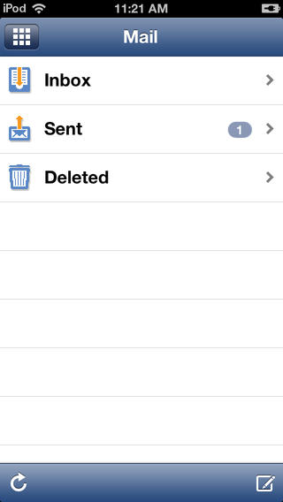 OfficeEMR Mobile integrates directly with email services