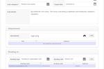 Captura de tela do NABD System: Subtasks creation