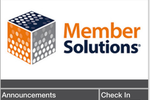 Member Solutions screenshot: Receive announcements through custom mobile apps