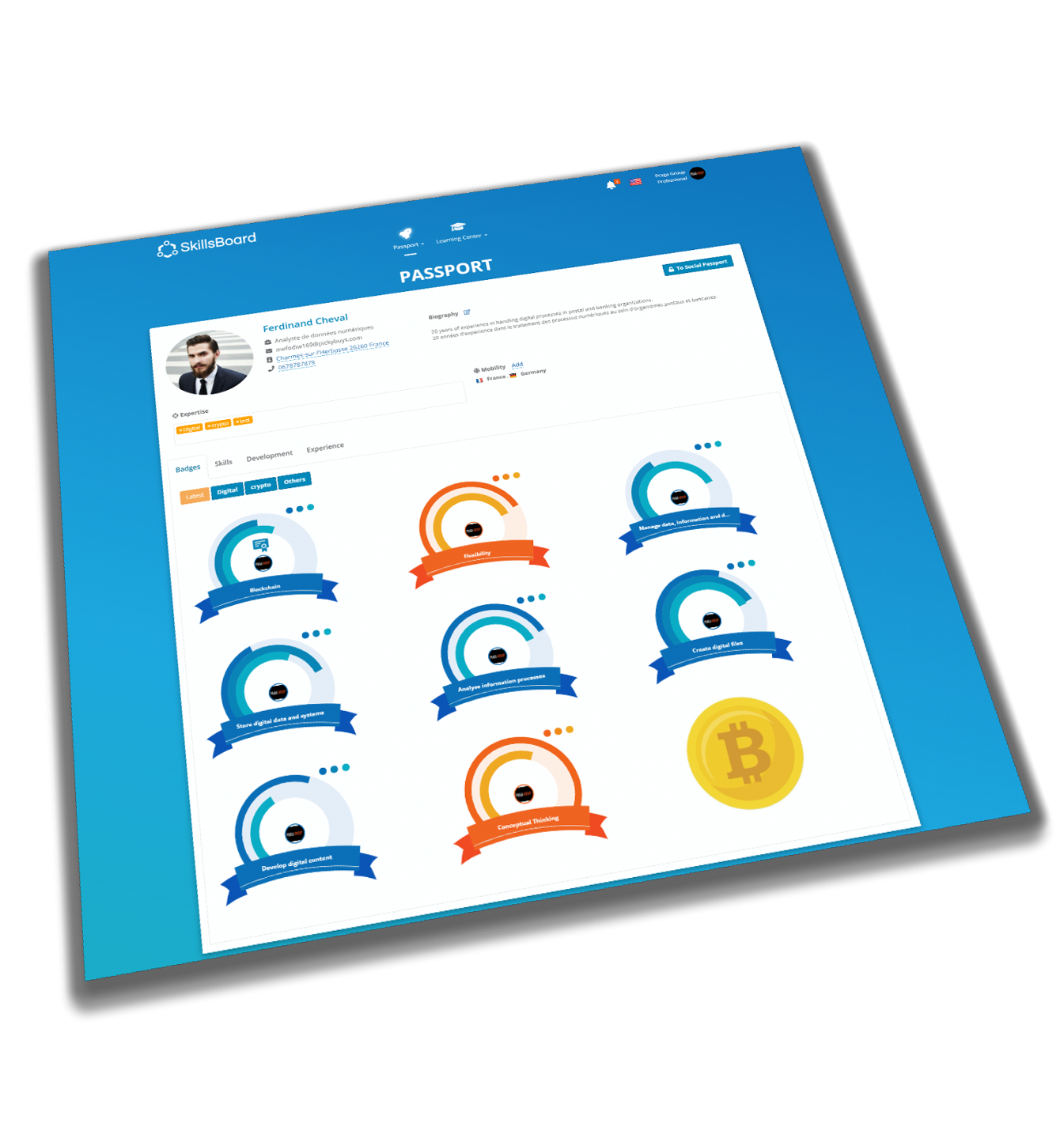 SkillsBoard Software - Continuous & Open badges