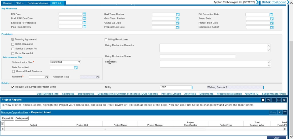Deltek Costpoint Software - 1