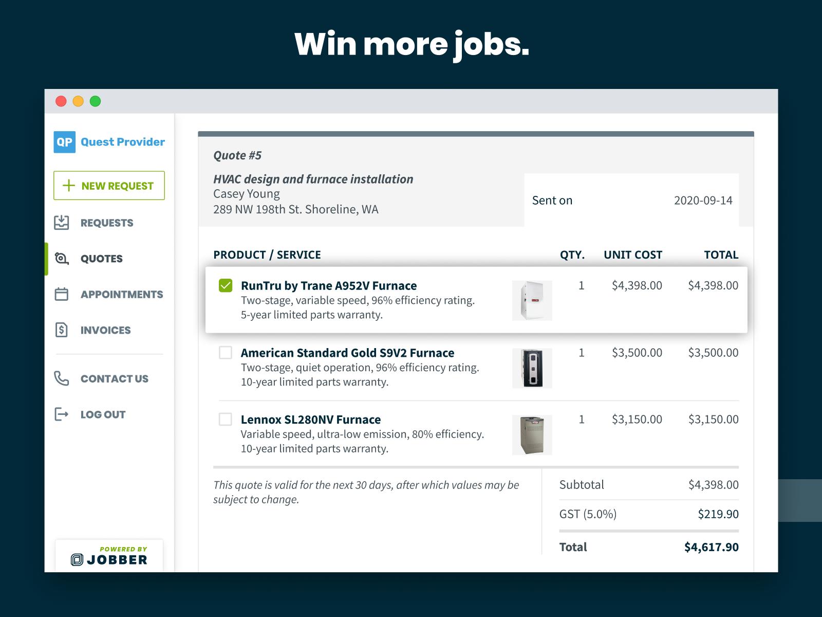 Jobber Software - Win more jobs.
