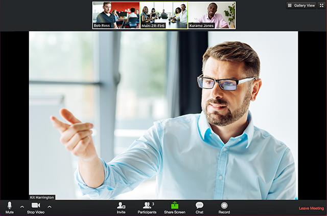 Zoom Meetings Logiciel - 1
