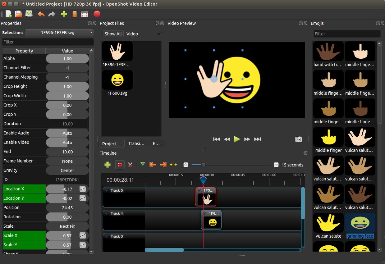 OpenShot Video Editor Software - 1
