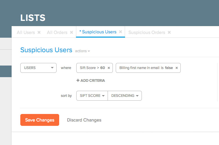 Create and save a unlimited number of manual review queries