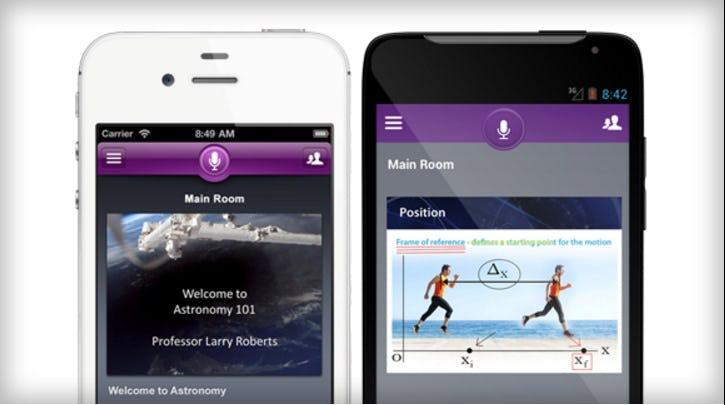 Blackboard Collaborate Software - Mobile interface