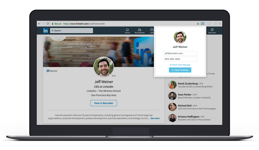 Breezy Software - Sourcing Chrome extension for LinkedIn, Anglelist, Xing, and more