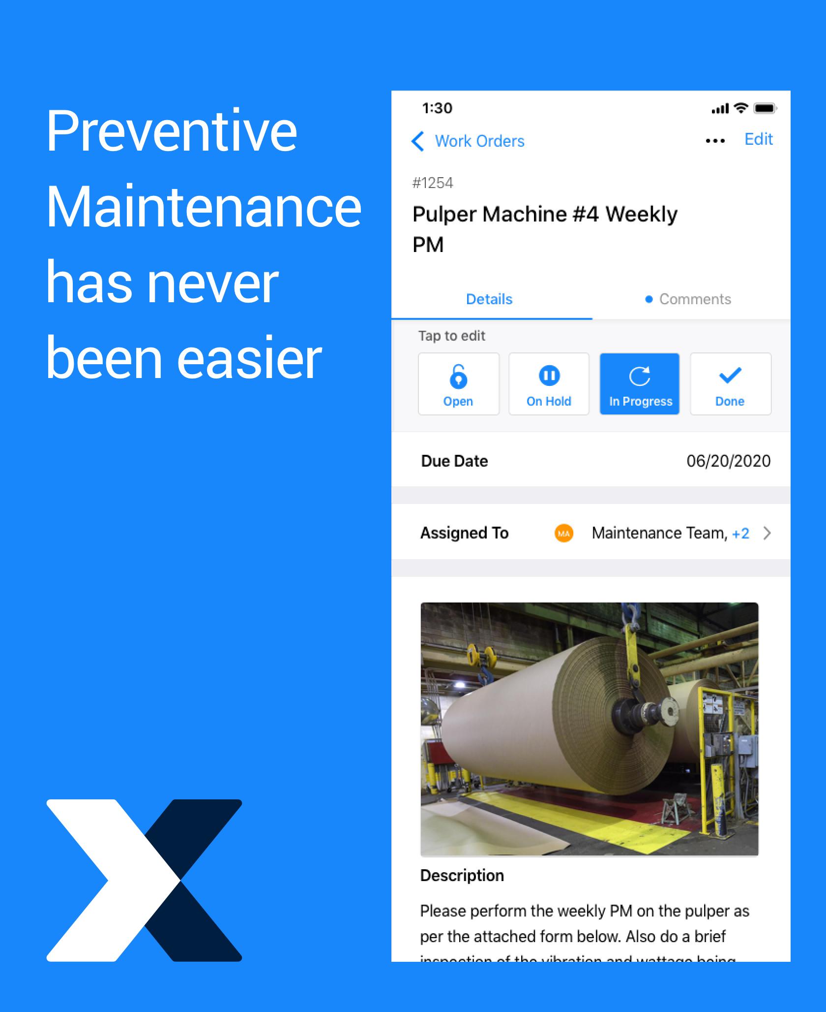 Preventive maintenance has never been easier