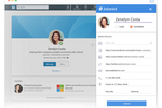 Schermopname van Jobsoid: Source candidates from LinkedIn directly in just one click. Install Jobsoid Chrome Plugin and get started with candidate sourcing. Build your talent pool online and hire the best talent.