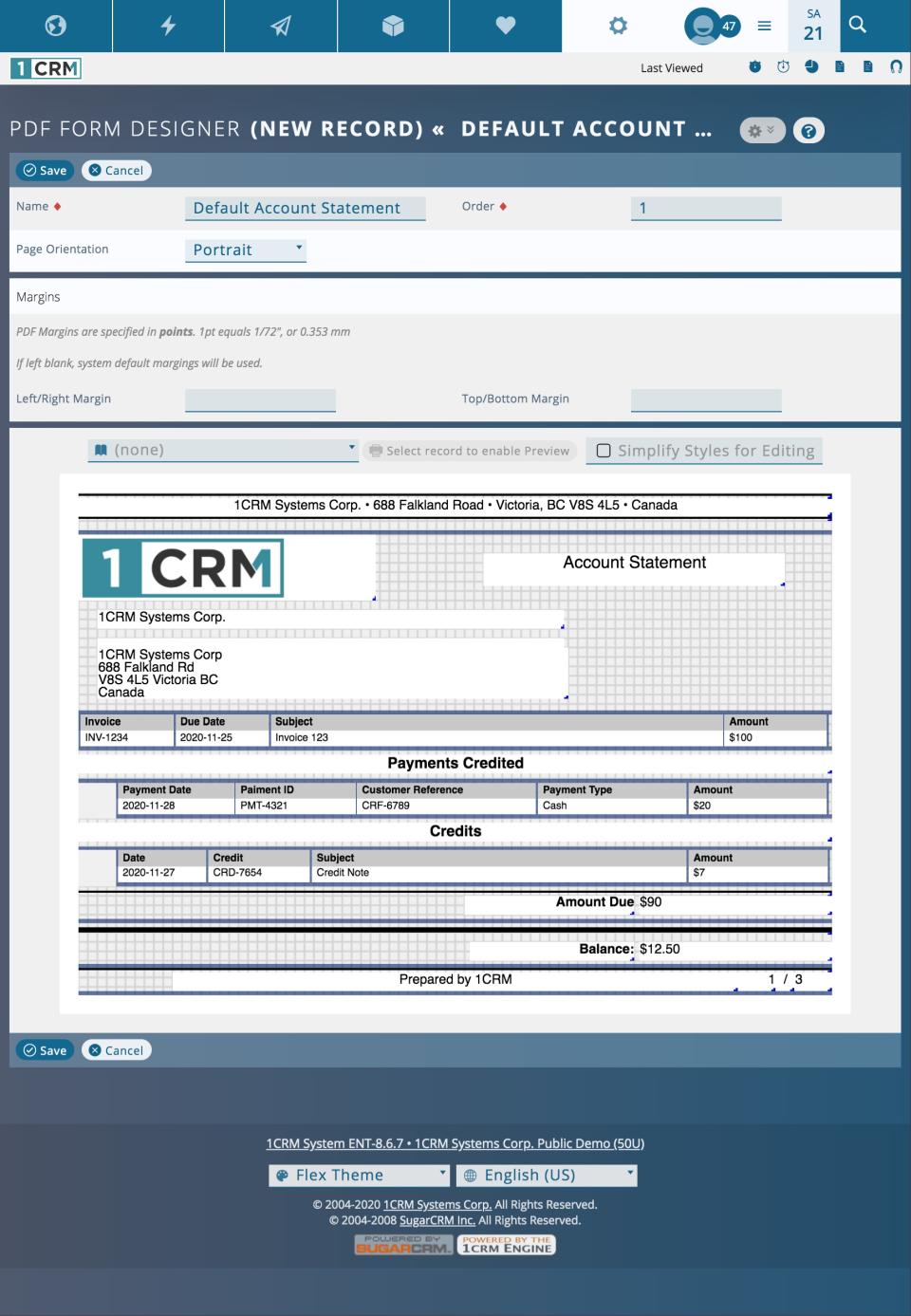 1CRM Logiciel - 5