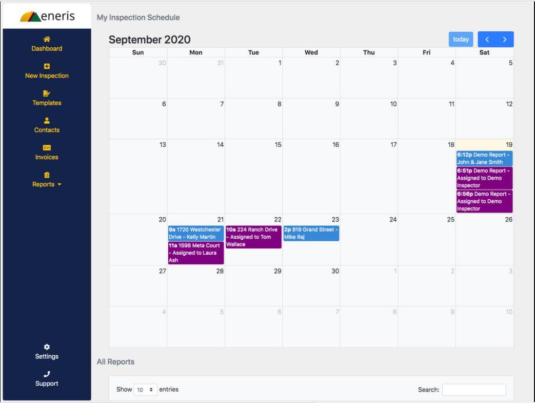 Eneris calendar