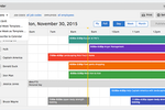 QuickBooks Time screenshot: Create and edit a schedule in minutes, and see who's working in real time