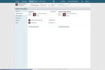Dentrix Ascend screenshot: Users can also manage patient contacts and guarantors using the patient profiles in Dentrix Ascend