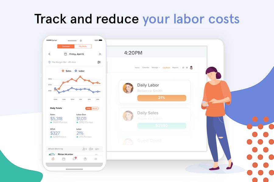 7shifts Software - Take control of your labor costs