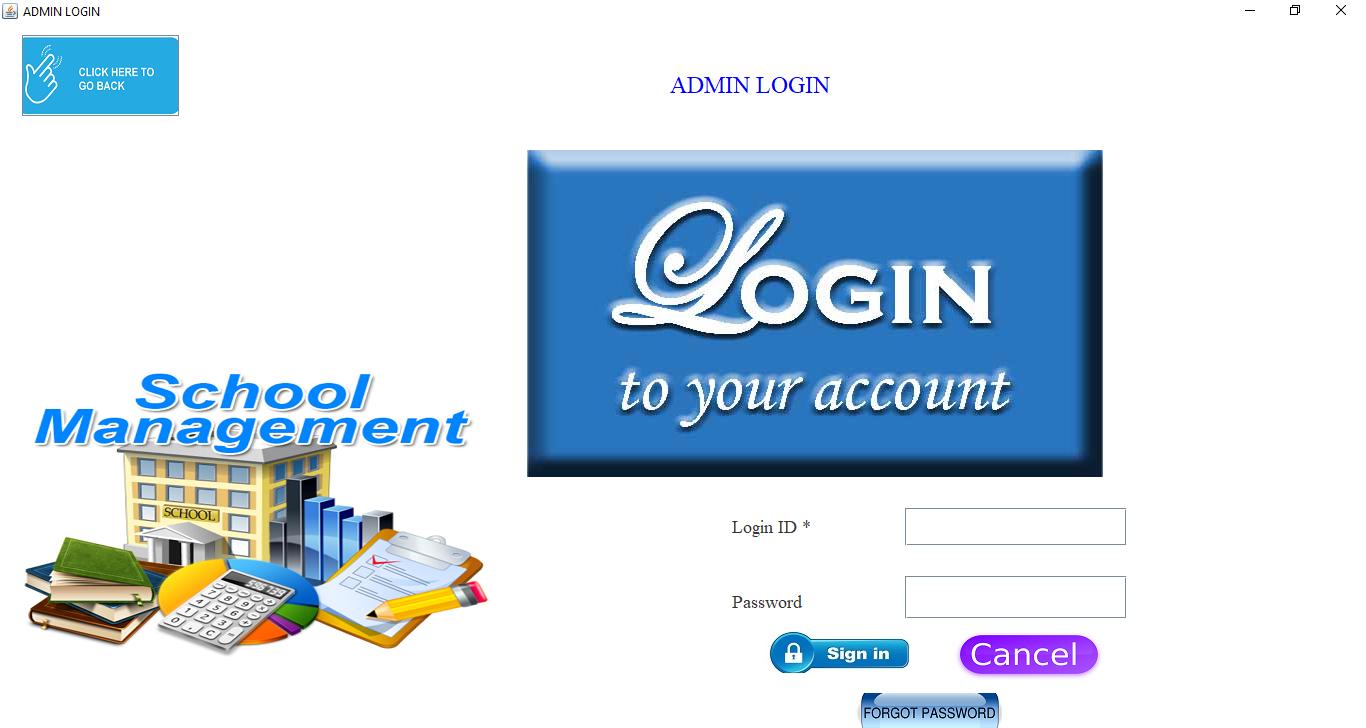 Shubhra School Management admin login