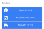 Captura de pantalla de ERPAG: Receive, count, track or pack items with inventory scanning mobile app