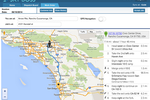 SkyBoss screenshot: Route optimization capabilities utilize algorithms for suggesting the most efficient journeys, ensuring tracked technicians get to the right job locations on time