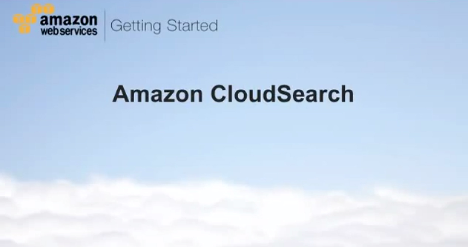 AmazonCloudSearch-WebsiteSearch-User