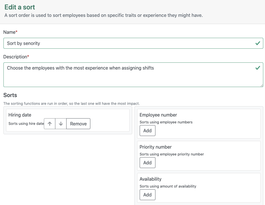Merinio Software - Effortlessly integrate complex rules: Guarantee the compliance of your schedules with software that integrates your business rules or collective agreement in addition to job requirements and employee qualifications.