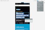 Elucidat screenshot: Make sure your content works on every device using Elucidat's mobile slider.
