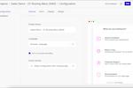 Captura de pantalla de Usersnap: Easy configuration