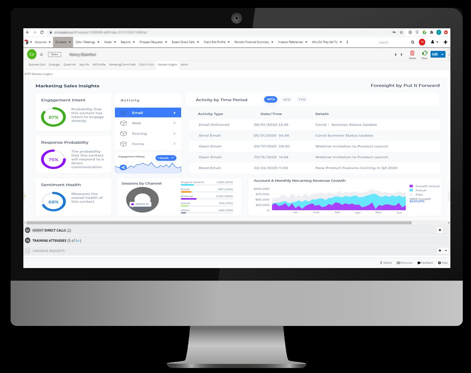 Delphi AI sales analytics