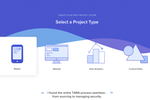 TARA screenshot: Tara seamlessly manages workflows, providing teams with optimal milestones, task lists, and spec sheets based on their project type