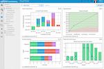 PowerSteering screenshot: Top-down, visual view of the complete portfolio