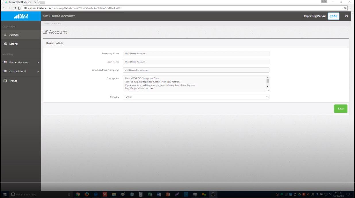 MX.3 account details