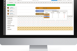 Hubworks Suite screenshot: The Zip Forecast engine prevents managers from over scheduling and predicts business based on sales