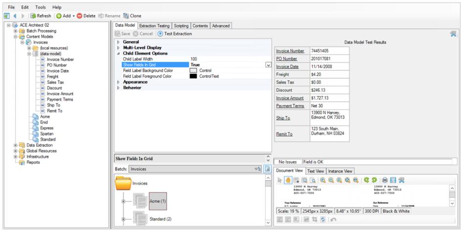 Grooper Software - Grooper Data Extraction