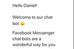 """SmartEngage screenshot: Bots give you that """"human touch"""" that allows you to make the transition from Messenger into email and push notifications; and ultimately more sales"""