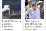 MobStac screenshot: The Hindu Android app powered by MobStac