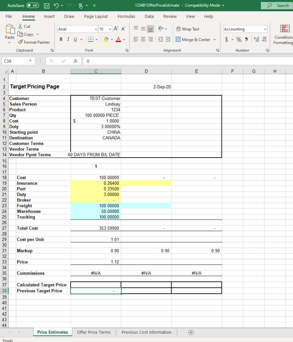 VISCO Software - Pricing Estimator