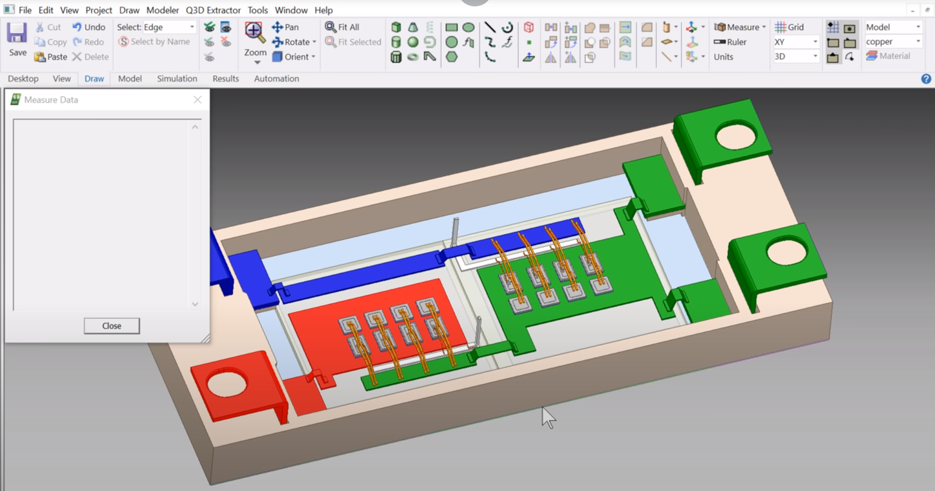 Ansys measure data