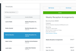Square Invoices screenshot: Invoices can also be created for recurring purchases or subscriptions