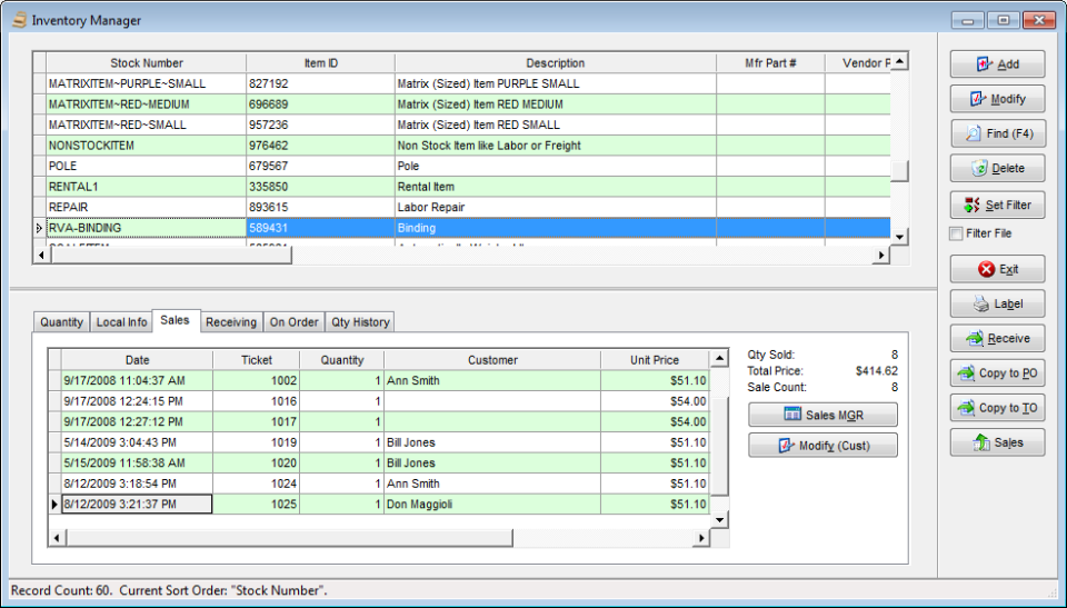 RetailEdge Software - RetailEdge inventory manager