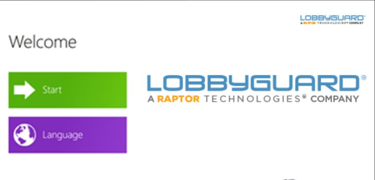 LobbyGuard welcome page