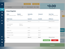 Ricochet Software - Full reports to track your store's performance and keep your accounts balanced.