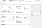 Skybill Utility Billing screenshot: Bills can be generated based on the type of facility and a combination of rates and services