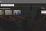 My360 screenshot: My360 tour scene settings screenshot