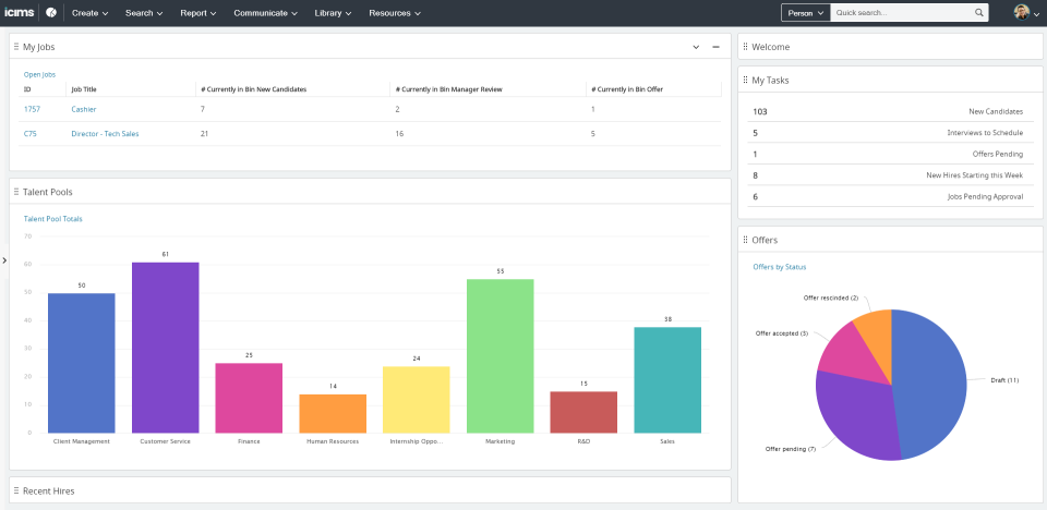 iCIMS Talent Cloud Software - 1