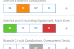 Spectora screenshot: Fill out custom forms to gather the relevant data during inspections